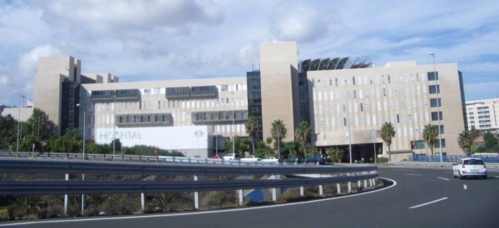 Fachada del Hospital Universitario Doctor Negrín de Gran Canaria.   DA