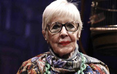 La actriz española Concha Velasco anuncia su retirada de los teatros