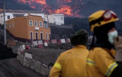 Vuelve a aumentar la explosividad de la erupción volcánica en Cumbre Vieja