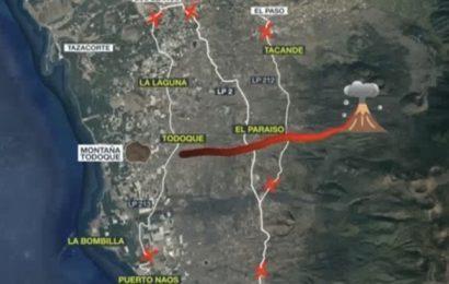 Cambios en la previsión del avance de la lava en La Palma para las próximas horas
