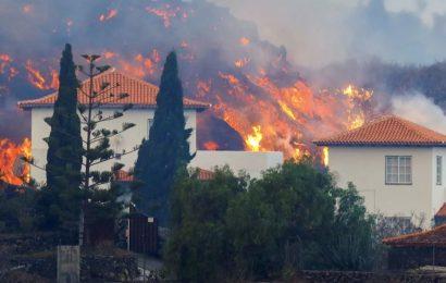 Muchas de las viviendas sepultadas bajo la lava en La Palma eran ilegales