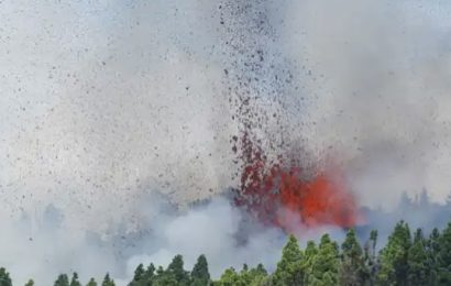 Aquí puedes seguir en vivo la erupción del volcán Cumbre Vieja, en La Palma