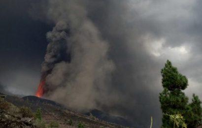 La nube de cenizas y gases del volcán de La Palma llega a la Península y Baleares