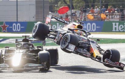 Crece la tensión en el mundial de F1 tras el choque entre Hamilton y Verstappen
