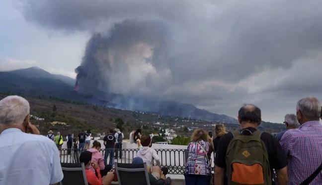 Los científicos confirman que el volcán de Cumbre Vieja ha entrado en fase explosiva