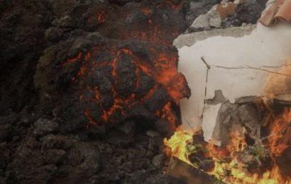 Aumentan las posibilidades de que la lava de Cumbre Vieja al final no alcance el mar