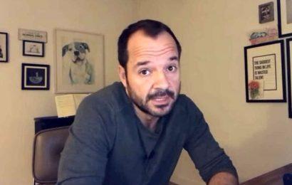 El presentador Ángel Martín se sincera y da a conocer la enfermedad que padece