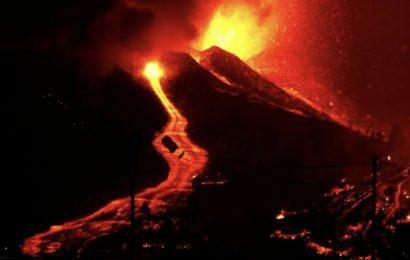 Confirman un fuerte aumento en la potencia de las explosiones en el volcán palmero