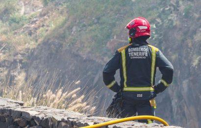 Declarado un conato de incendio forestal en Tacoronte