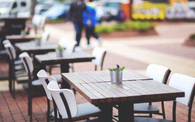 La nueva terracidad: Comer y beber con mascarilla