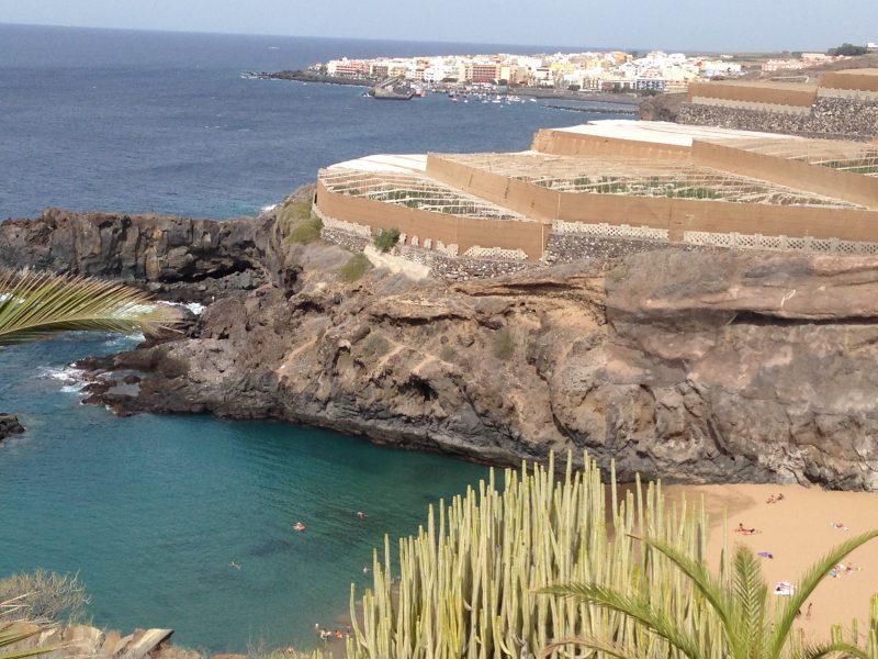 Playa del Abama: la cala escondida