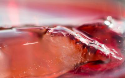 Congelar el vino en cubitos: cocina de aprovechamiento al 100%