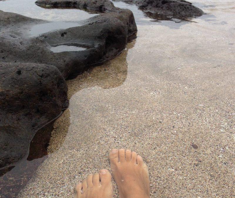 El Apio, un arenal blanco en el norte de Tenerife