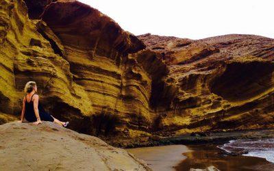 Las extrañas rocas de Montaña Pelada