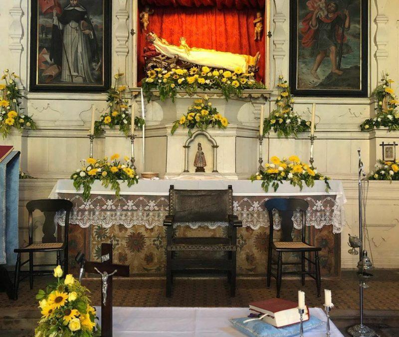 Una iglesia peculiar en el norte de Tenerife
