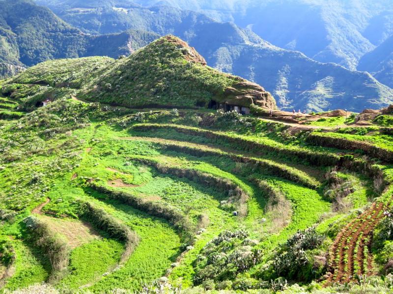 De Las Carboneras a Chinamada: Anaga