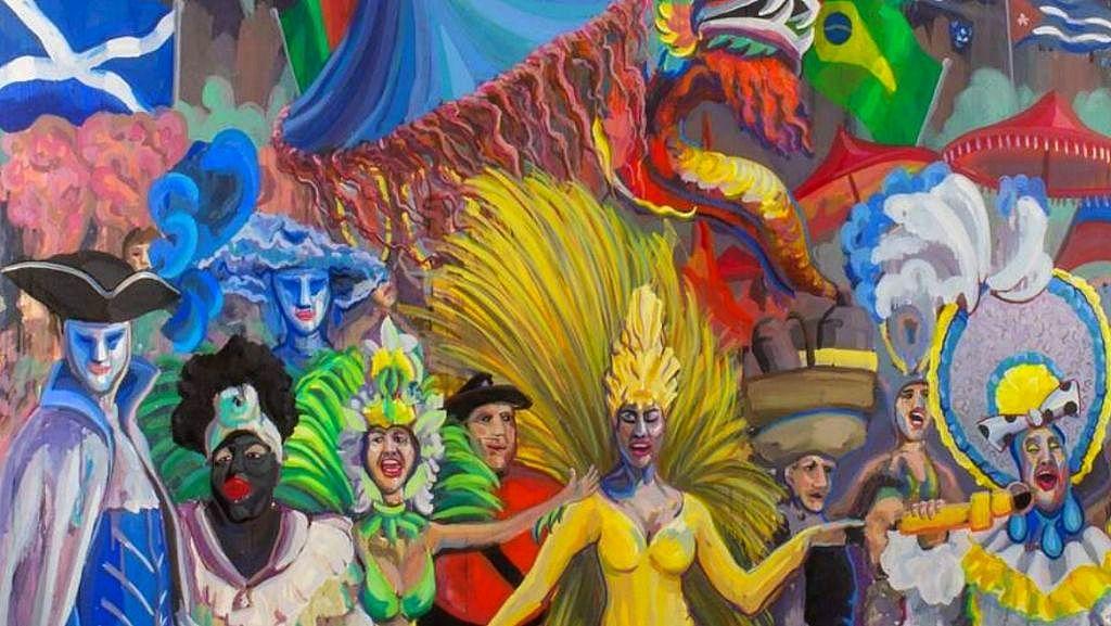 El Centro de Arte La Recova acoge una colectiva sobre el carnaval chicharrero