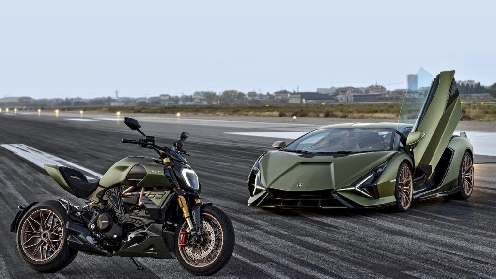 Ducati presenta la Diavel 1260 Lamborghini