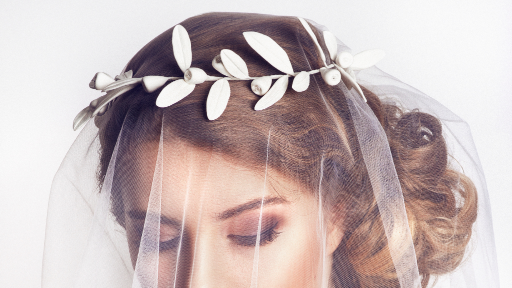 El tocado de la novia