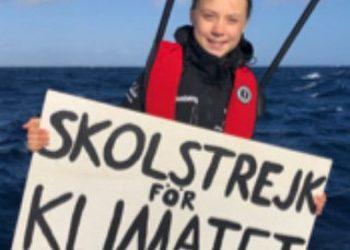 Greta Thunberg podría tocar tierra en Lisboa este martes