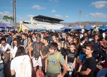 500 jóvenes canarios piden no escatimar en medidas para luchar contra el Calentamiento Global