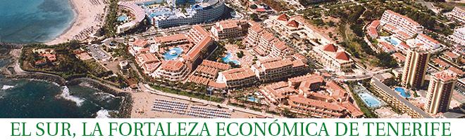El Sur, la fortaleza económica de la Isla