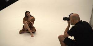 Ariadna Fregel Pérez posa para Alfonso Bravo en Nuva Studio, con vestuario de SOI Complementos y Marco&María, maquillaje de Marc Philguer y Peluquería de Gilberto Velázquez. DA