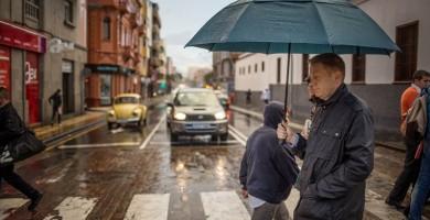 Aviso amarillo por riesgo de lluvias fuertes este viernes en Tenerife