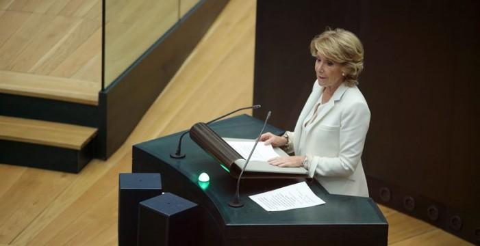 'Génova' dice que no ha pedido la dimisión de Esperanza Aguirre