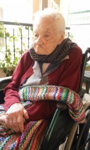Rosalba Castro Bello, la abuela de Canarias. / DA