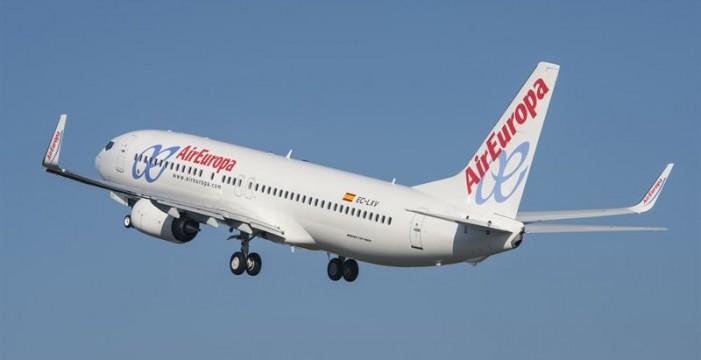Air Europa empezará a volar entre las Islas Canarias el 30 de octubre