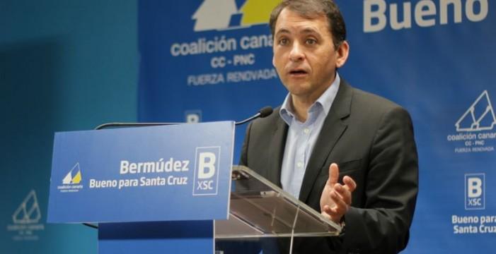 Bermúdez afirma que la compra de terrenos en Las Teresitas fue buena para Santa Cruz