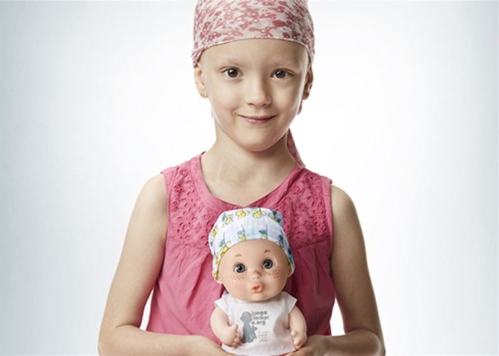 Resultado de imagen de niños afectados de cáncer canarias