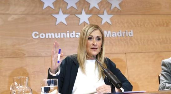 """Cifuentes remarca que el PP es el único que """"garantiza"""" que España avance"""