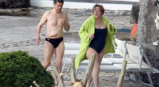 Angela Merkel elige La Gomera para pasar sus vacaciones de Semana Santa