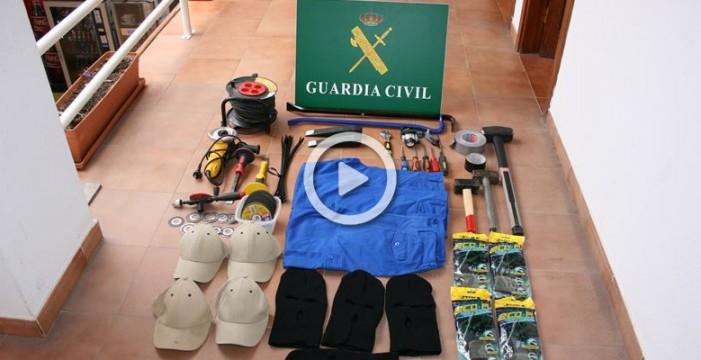 La Guardia Civil detiene a 5 personas relacionadas con el asalto a una casa de Lanzarote a principios de año