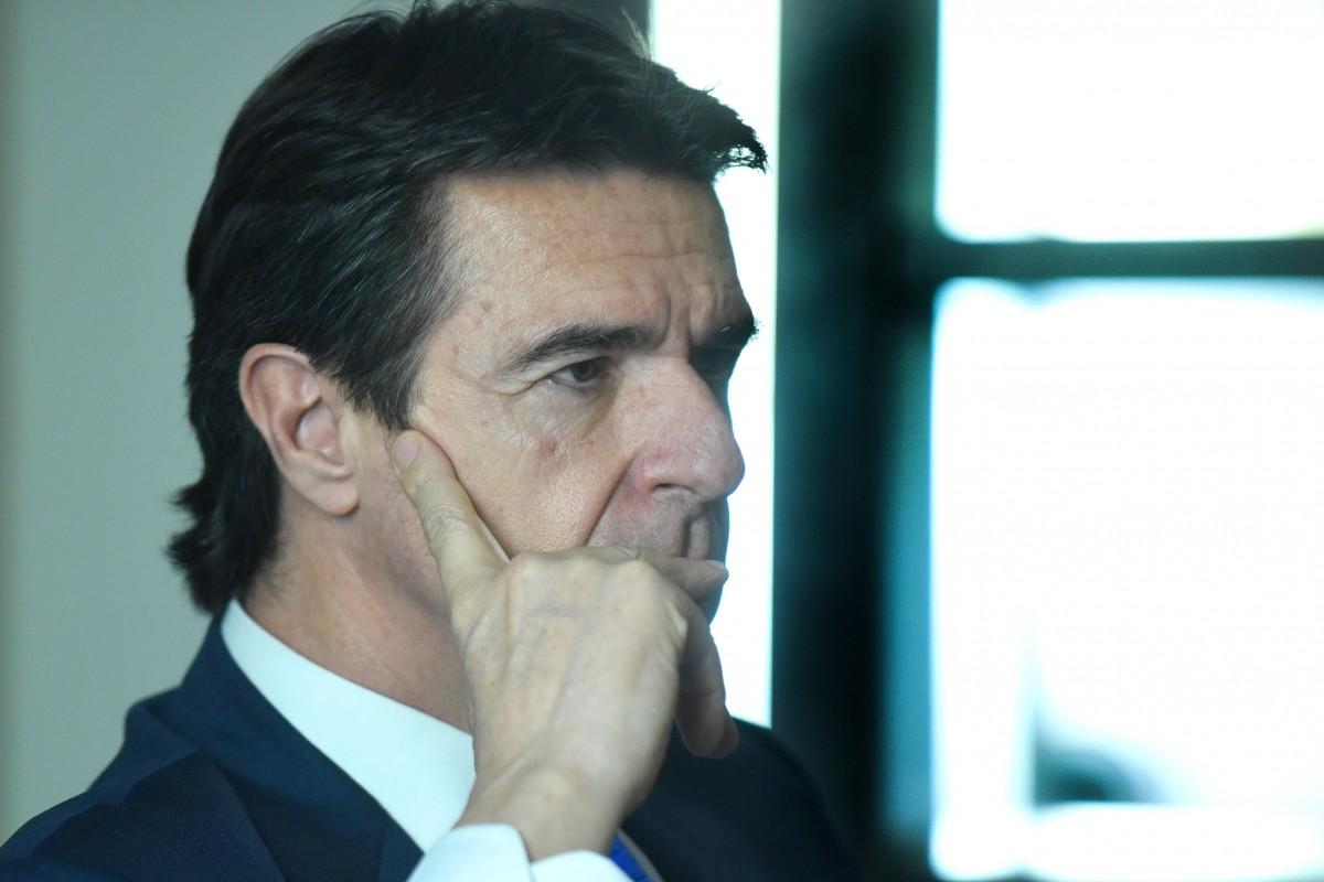 José Manuel Soria, presidente regional del PP y ministro en funciones. / SERGIO MÉNDEZ
