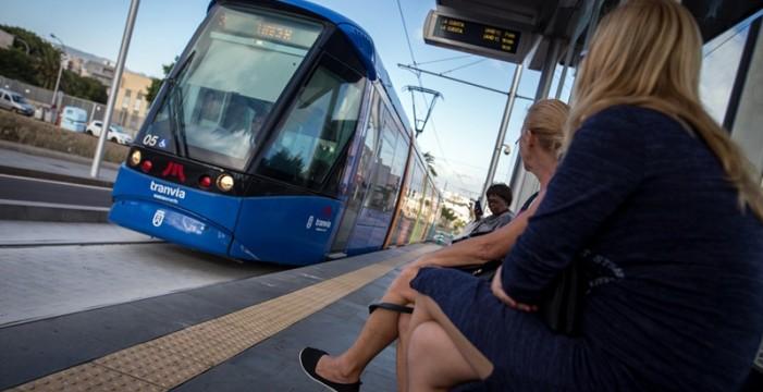 La ONCE dedica un cupón al décimo aniversario del Tranvía de Tenerife