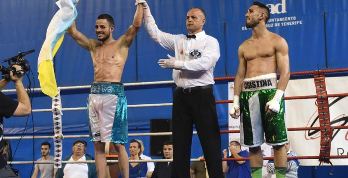 King Daluz gana el título nacional del peso ligero
