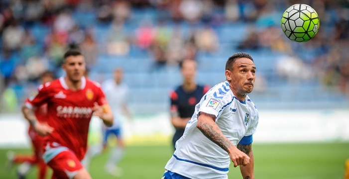 El Tenerife renueva a Suso Santana hasta junio de 2018
