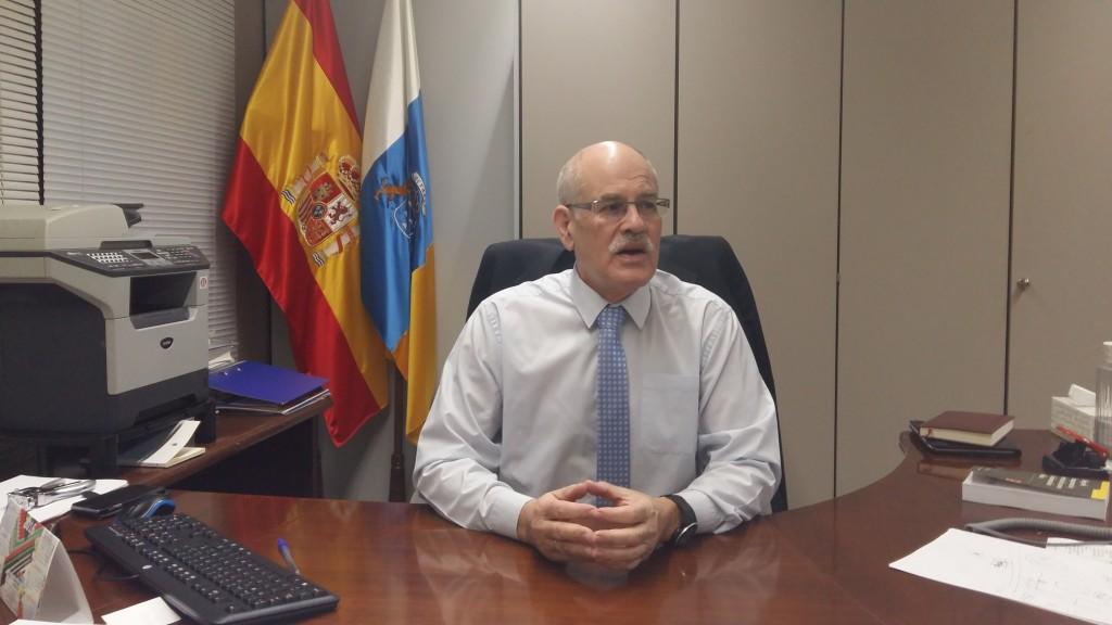 Teófilo González, director general de Transparencia y Participación Ciudadana. / DA