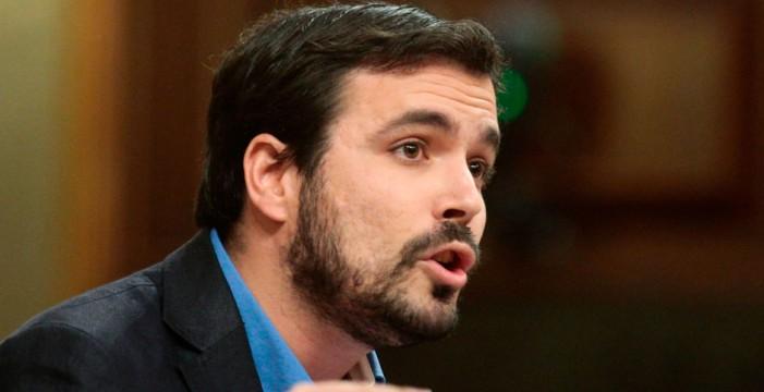 Alberto Garzón dice esto del PSOE y de Zebenzuí y las redes hablan