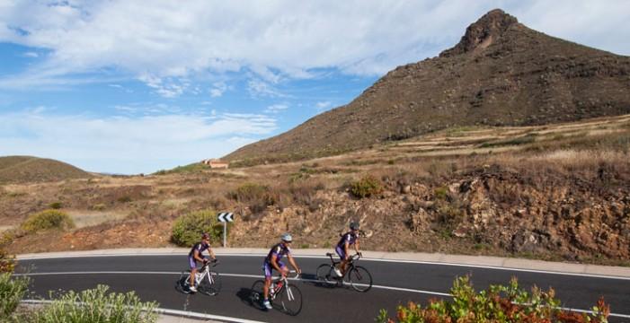'Respect' para los ciclistas: nueva campaña del Cabildo de Tenerife