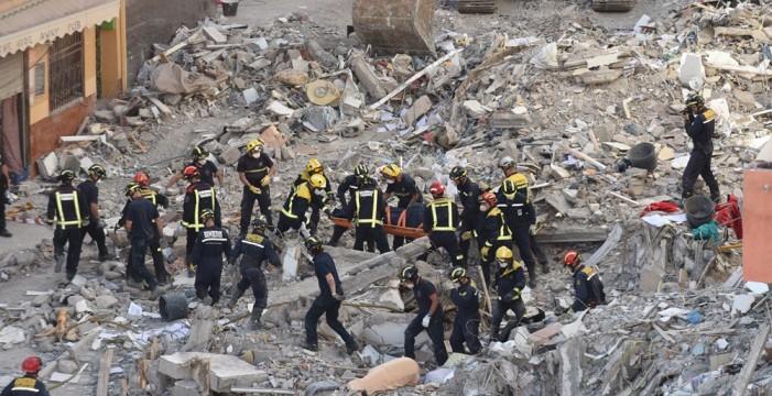 El PP propone homenajear a los 'héroes' del derrumbe de Los Cristianos