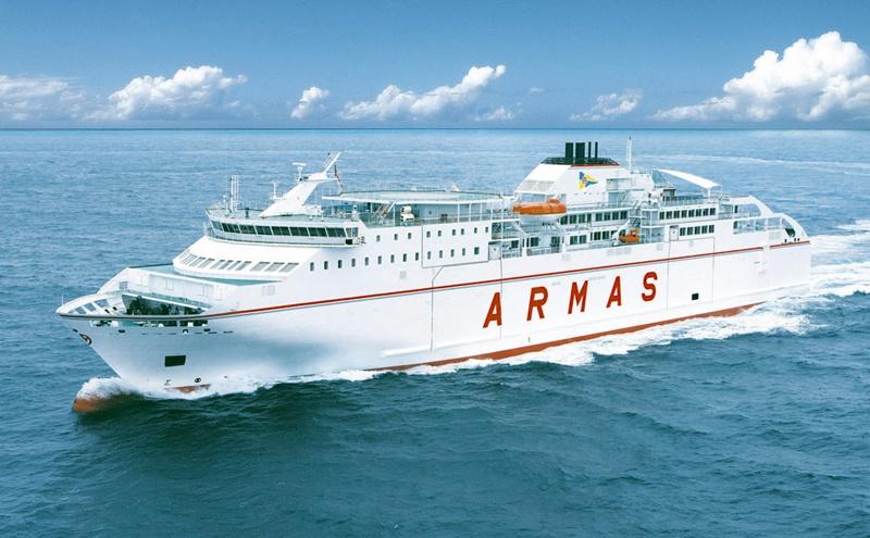 Pagar 6 euros por el billete de barco entre islas for Oficinas de naviera armas
