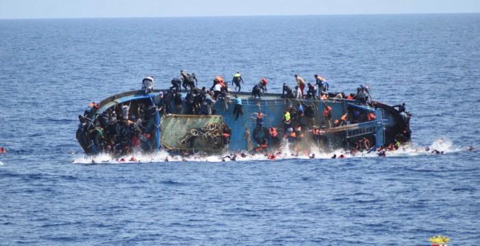 La fragata española 'Canarias' ha rescatadoa más de 3.000 migrantes en el Mediterráneo