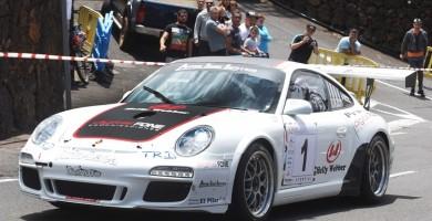 Lauren García y Mahy García (Porsche 911 997 GT3 Cup Rally 2010),