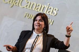 La profesora y psicopedagoga tinerfeña Lorena García. / S.M.