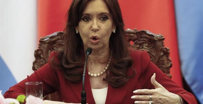 Un juez pide despojar de inmunidad a Fernández de Kirchner para detenerla por encubrir terroristas