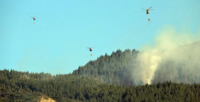 La Aemet ve riesgo moderado-alto de incendios forestales en Canarias
